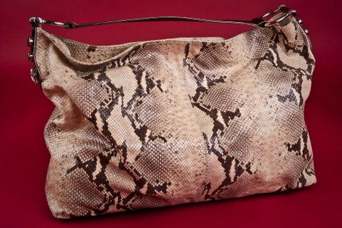 Surly Girl Snakeskin Purse Photo