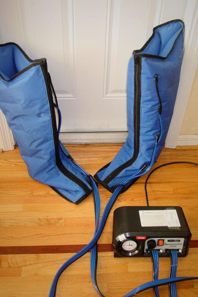 how to call recovery device for leg and arm