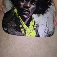 "RARE!! ""HUES OF HENDRIX""HIGH QUALITY ART PRINT by David Garibaldi!!!! Photo"