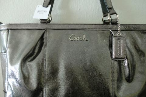 NEW COACH LEATHER BAG Photo