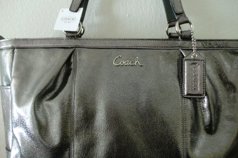 NEW COACH LEATHER BAG Large Photo
