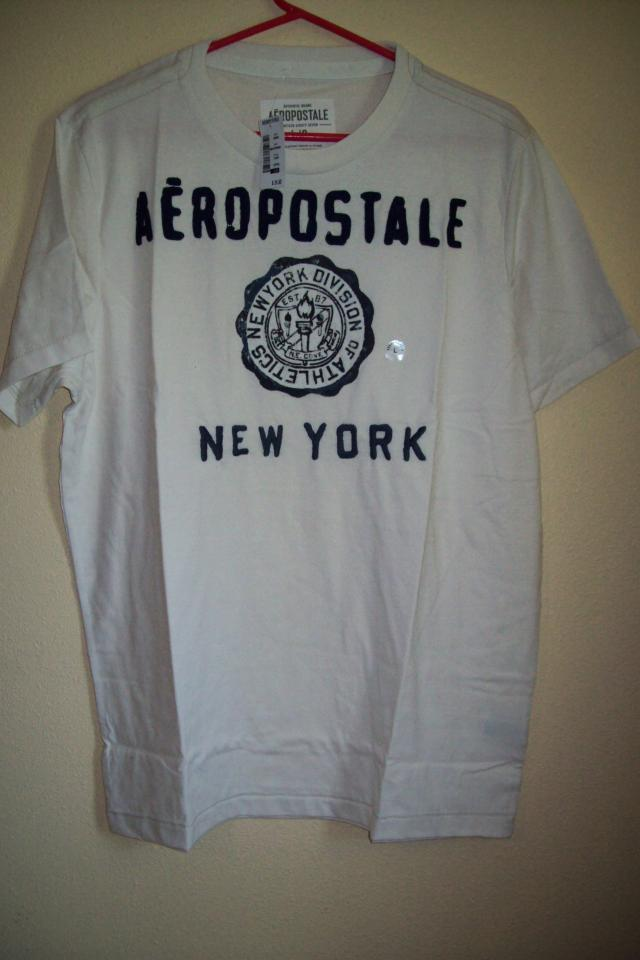 small Aeropostale Men Boy Shirt New With Tag Large Photo