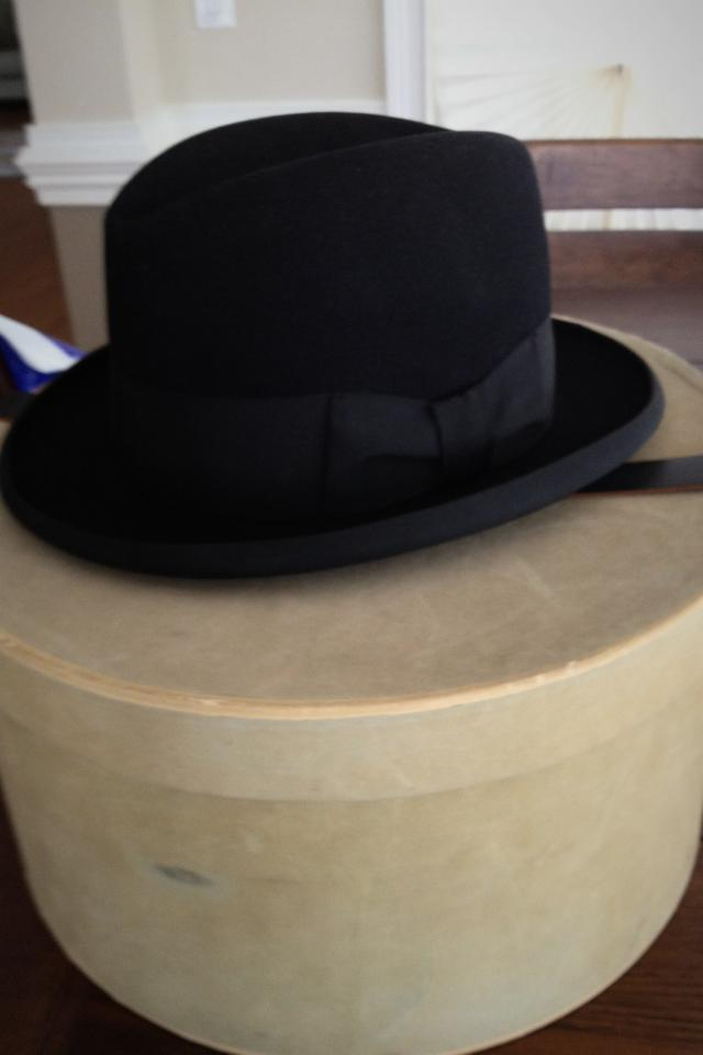 Old hat/ Brand new in hat box  Photo