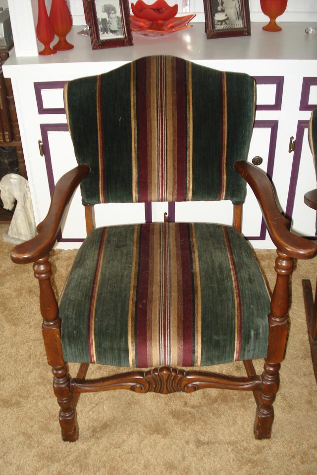 2 Beautiful Antique Chairs Photo