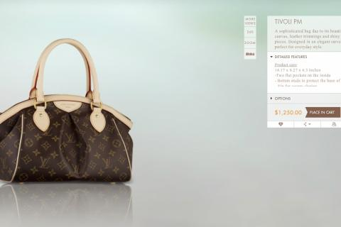 Louis Vuitton Monogram PM Tivoli  Photo