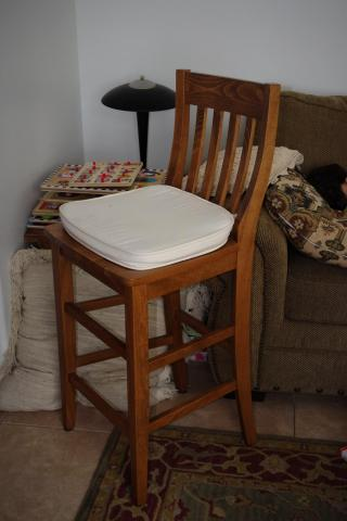 Computer Table with chair Photo