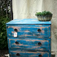Athena- Shabby, Mid-Century, Warrior Dresser Photo