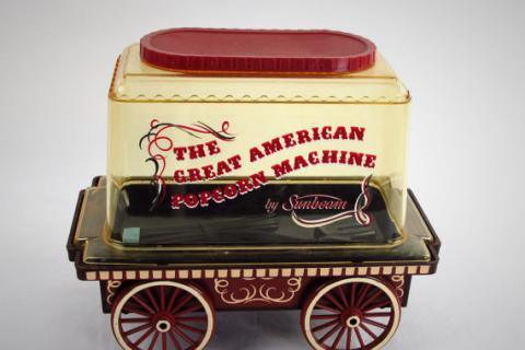 Sunbeam Popcorn Popper Circus Wagon Photo