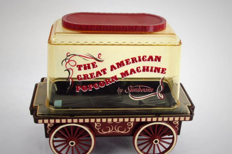 Sunbeam Popcorn Popper Circus Wagon Large Photo
