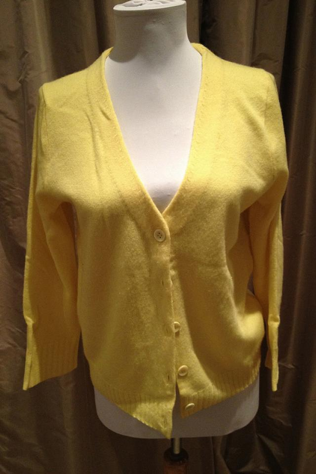 Yellow Cashmere Photo