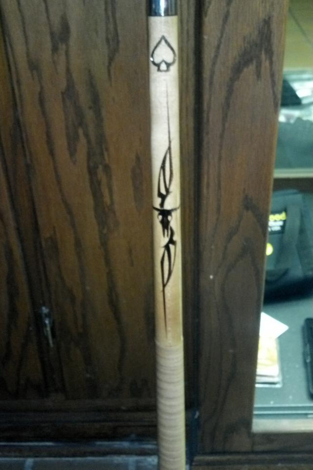 Outlaw 20 oz. Cue Stick Photo