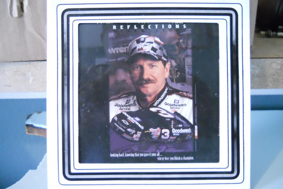 Dale Earnhardt Picture Unsigned Large Photo