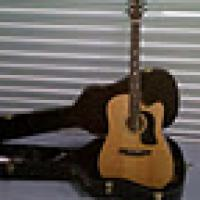 Washburn Acoustic-Electric Cutaway Guitar w/ Hard Case + Cords - $295 (D.C.-Baltimore Area) Photo