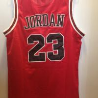 Michael Jordan Red Chicago Bulls jersey BRAND NEW!! VERY CHEAP! Photo