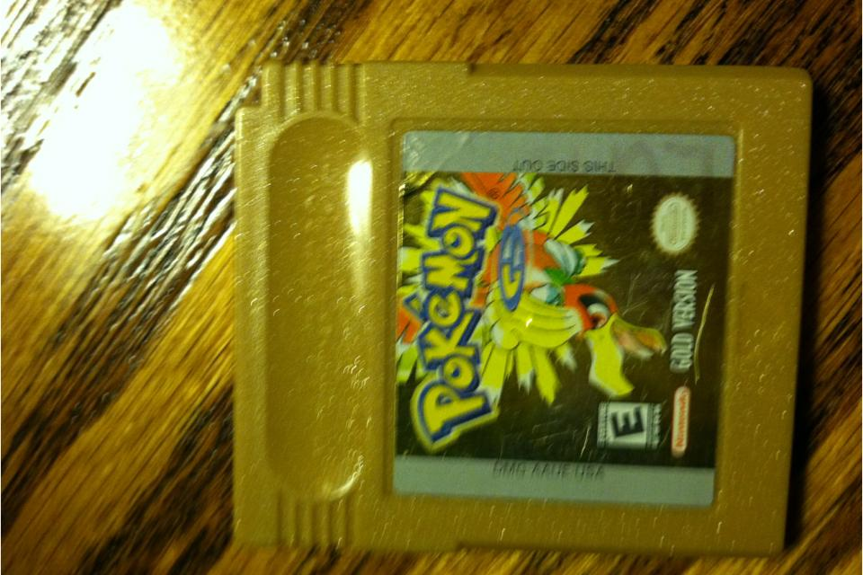 Pokemon gold Large Photo