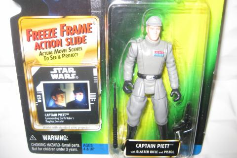 NEW Star Wars Saga Power of the Force 2 Empire Strikes Back Freeze Frame Captain Piett Photo