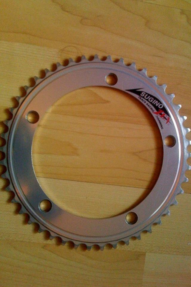 46T Sugino Zen Track Racing (NJS) Chainring Large Photo