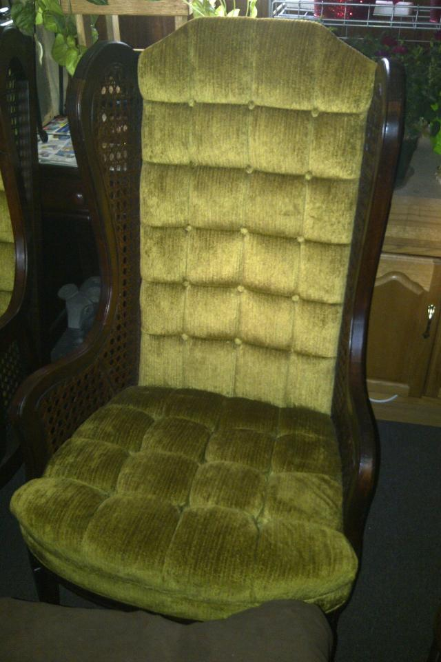 1970's Wing Back Chairs Large Photo