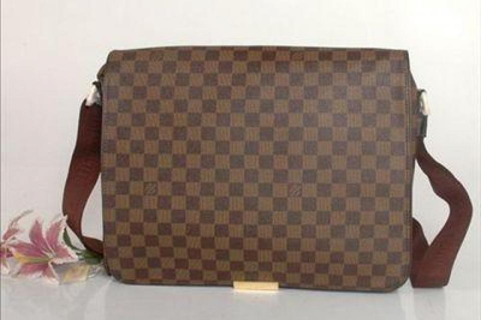Louis Vuitton Inspired Unisex Fashion Monogram Demier Messenger Bag Large Photo