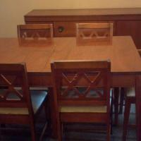 Circa 1920 - 1950's Wooden Diningroom Set Photo