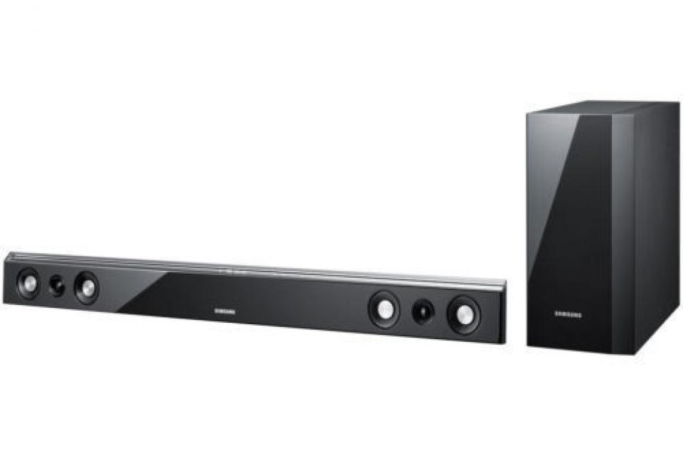 Samsung HWD450 Soundbar w/ Wireless Subwoofer - $149  Large Photo