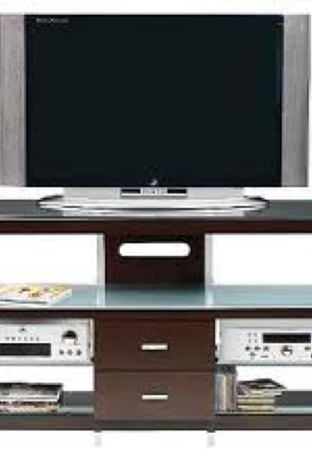 Crescent tv stand Photo