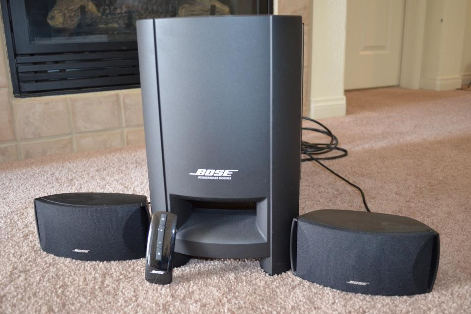 BOSE home theater system Large Photo