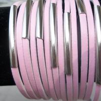 Pink Classic Wristband Cuff Leather Bracelet Free Ship Photo