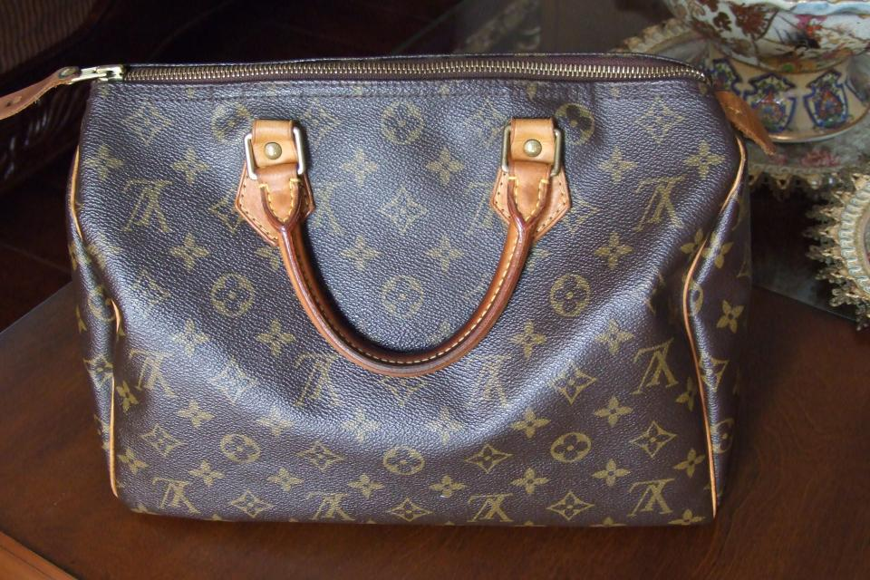 AUTHENTIC LOUIS VUITTON SPEEDY 30 Large Photo