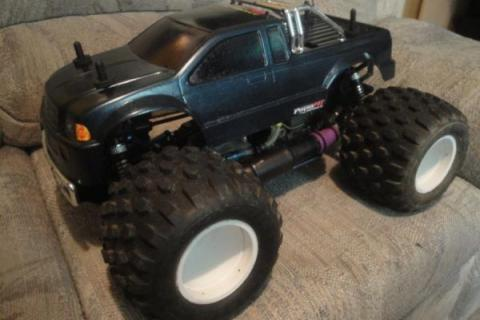 Nitro 4X4 OFNA Monster Pirate MT 3.50cc Hyper 21 4Port w/ Turbofan Photo