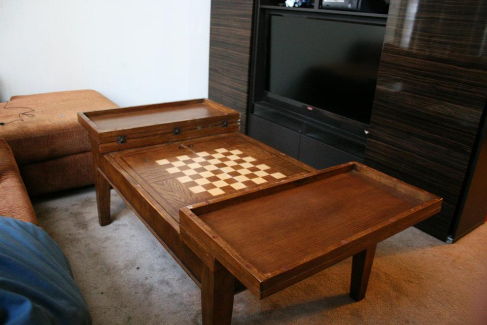 Chess Board Coffee Table Large Photo