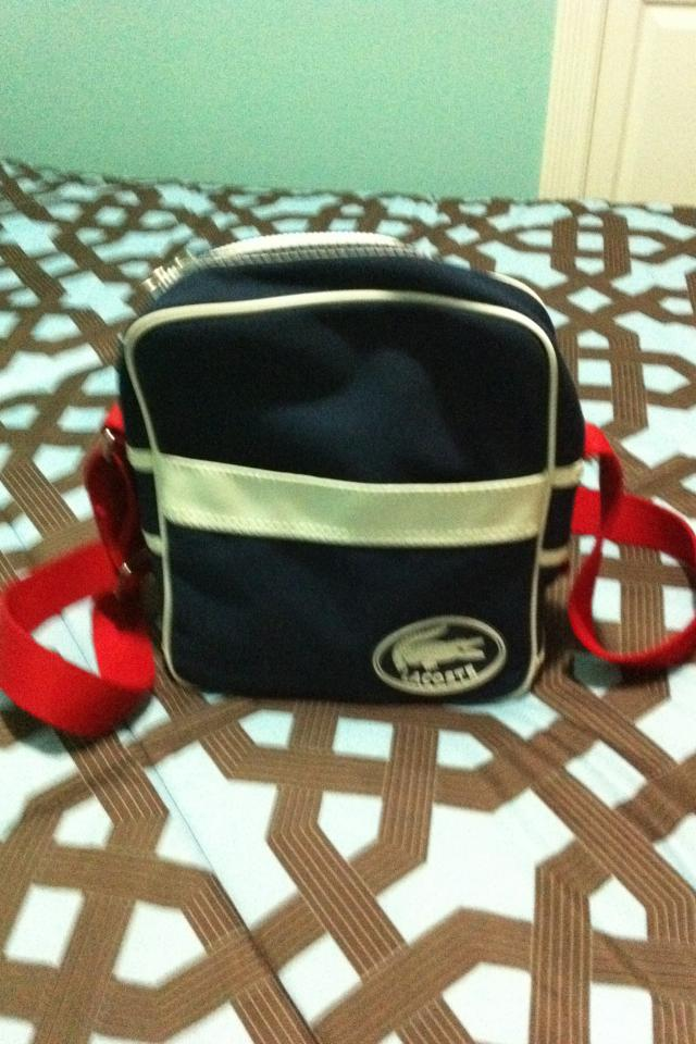 Lacoste Messenger/ Shoulder Bag Large Photo