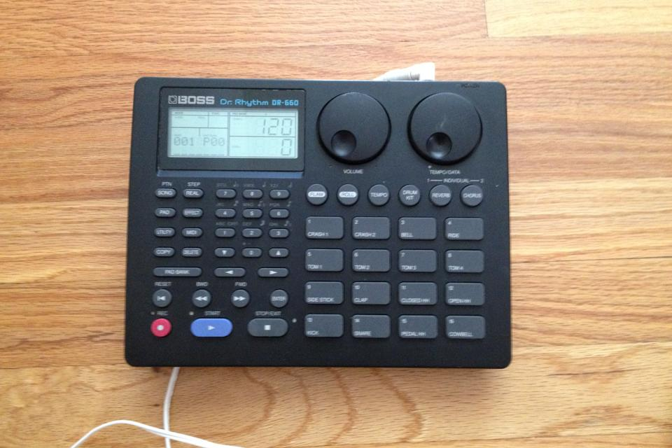 BOSS DR-660 Dr. Rhythm Drum Machine Large Photo