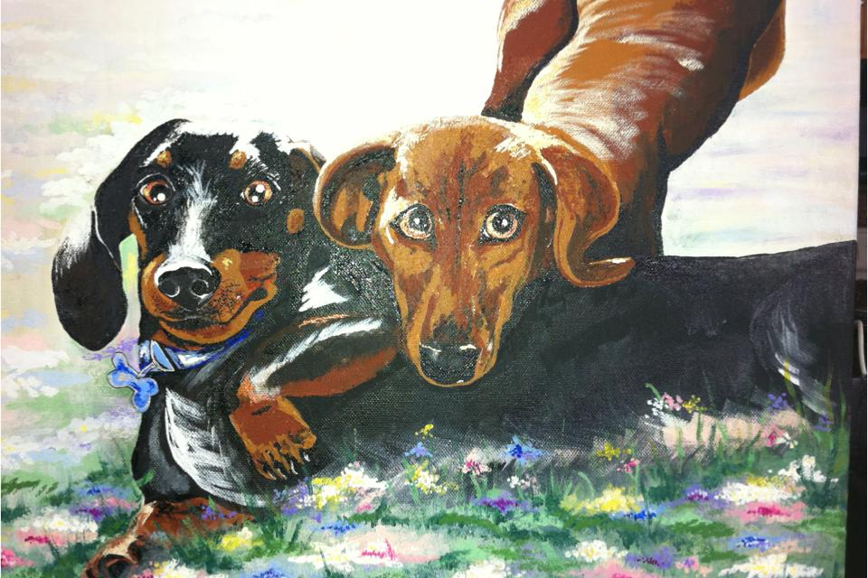Pet Paintings Large Photo