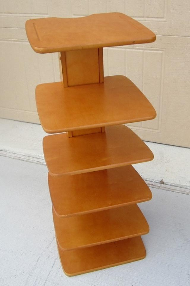 Mid Century Modern Shelving Unit Very Unique Photo