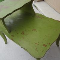 Shabby Chic Green Side Table Photo