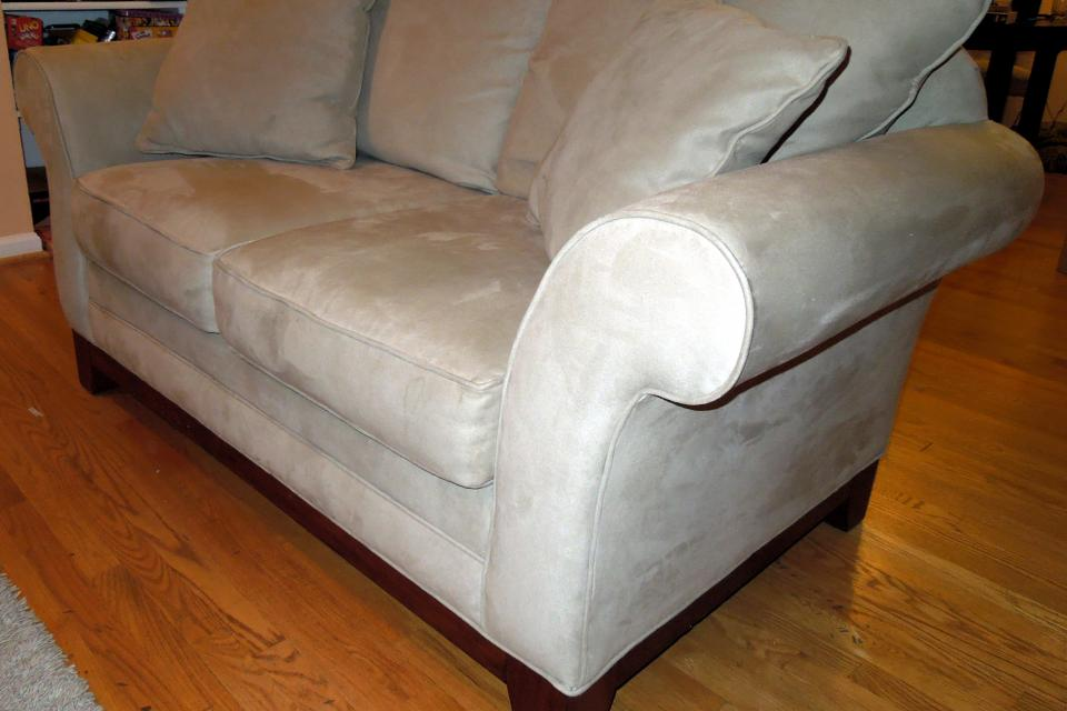 Sofa & loveseat microfiber set Large Photo