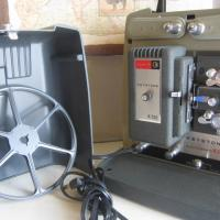 Keystone Super 8 Projector in Case Photo