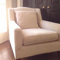 Cozy, Comfy, Classy Pottery Barn Chair Photo