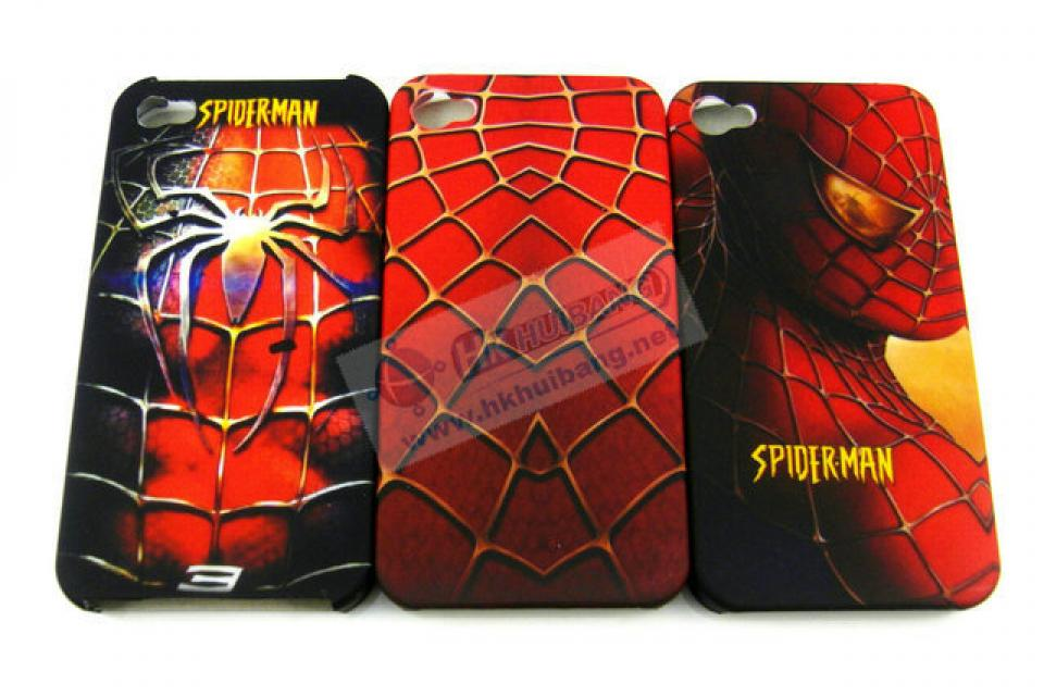 3x Spiderman Hard Back cover case for iPhone 4 4G 4S  Large Photo