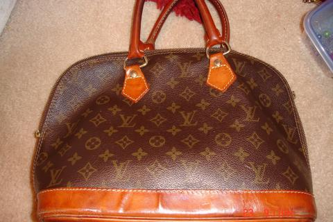 Vintage Louis Vuitton Alma Handbag Photo