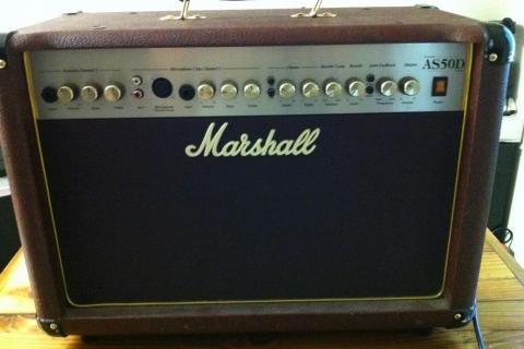 Marshall AS50D Acoustic Amp Photo
