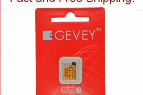 GENUINE iOS 5.1 Gevey Ultra S Turbo Sim Unlocked For GSM iPhone 4S 4GS 5.0 5.1.1 Photo