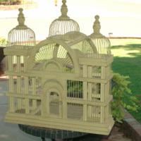 Vintage Inspired Birdcage 31&quot; Tall Photo