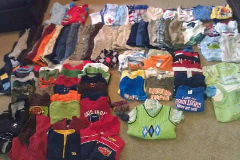 Boys 24 Month / 2T Lot Summer & Winter Clother 101 Pieces EUC Photo