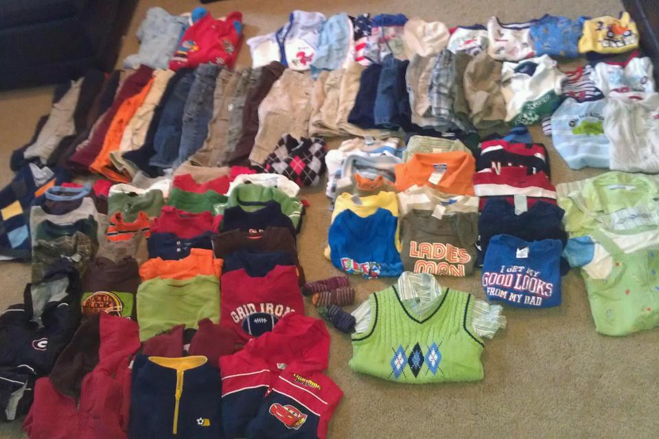 Boys 24 Month / 2T Lot Summer & Winter Clother 101 Pieces EUC Large Photo