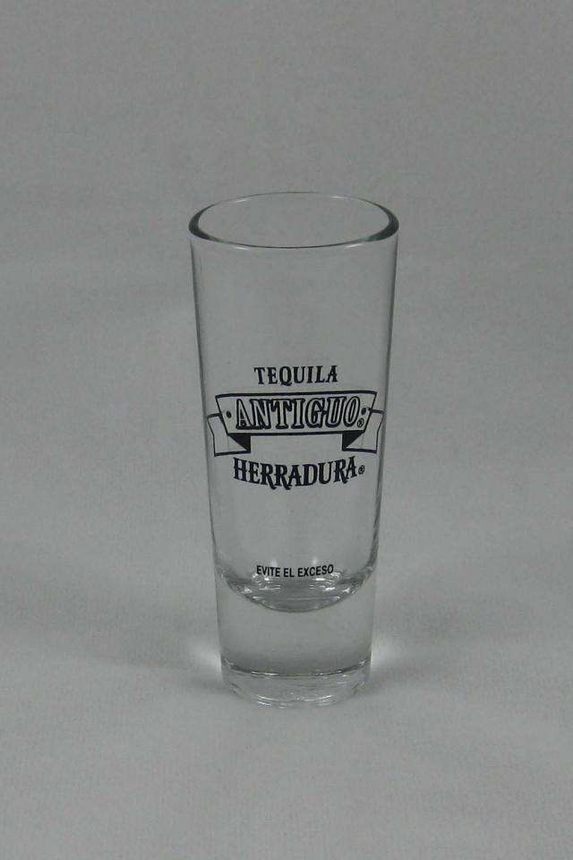 Antiguo Herradura Tequila Shot Glass [ Tall ] Photo