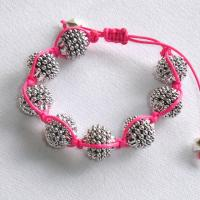 Pink Handmade friendship bracelet Photo