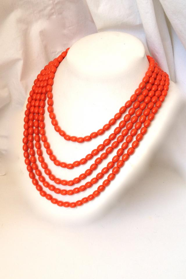 Tangerine Dream Multistrand Necklace Photo
