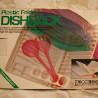 Camping Dish Rack - Folding Portable Plastic  Photo